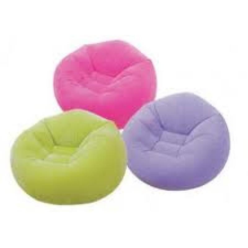 Intex Inflatable Air Bin Chair--68569, With Pump - AS SEEN ...