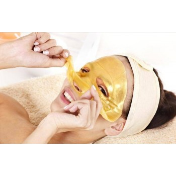 24k Gold Active Face Mask-10Pieces-To Brightening Face,Spa Anti Aging Treatment