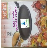 Femina 4MM Non Stick Big(280mm) Dhosa Tava-ISI With Adjustable Stainless Steel Slicer- First Time In India, On Discounted Price,