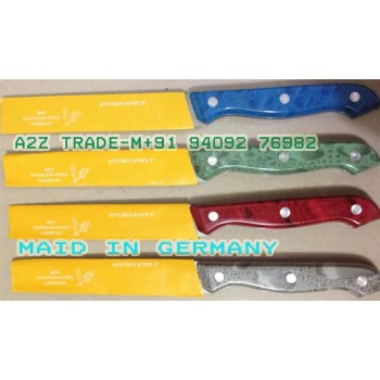 Hen Germany Stainless Steel Knife Total 4 Pcs, Imported Stainless Steel Knife,On Discount Price,@ 50% Off