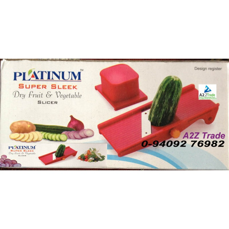 Platinum Super Sleek Dry Fruit And Vegetable Slicer On Deal Price ...