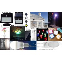 LED Light, Solar Led Light, Night Light