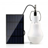 15W 130LM Solar Light Lamp Portable With Solar Panel For Outdoor, Camping,Tent,Camp Tent Fishing Light,
