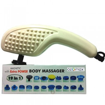 Body Mate - 19 in 1 Full Body Massager with Powerful Motor,MrpRs.1999/- On 50% Discount With Quantium Sience Scaler Pendent(Mrp Rs.999/-) Free ,