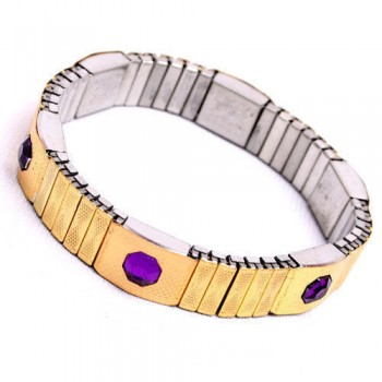 Flexible Blood Pressure Control Magnetic Bracelet For Women-Imported, On 50% Discount With Cogent Anti Radiation Mobile Chip Free