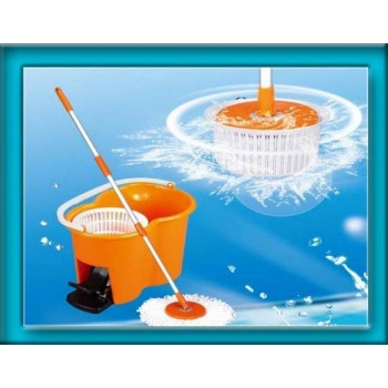 Magic Mop Rotating Spin 360 Degrees Floor Cleaner on 50% Discount+Nazar Kavach Free