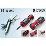 8 IN 1 MULTI SCREW DRIVER + Free Bonus 10 IN 1 POCKET KNIFE Worth Rs 349/-