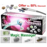 Powerful Magic Body Massager With 6 Attachment Price in USA - 69 US$ Offer Price Only Rs.1999