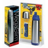 Stainless Steel Vacuum Flask thermos With Carry Case MAID IN USA