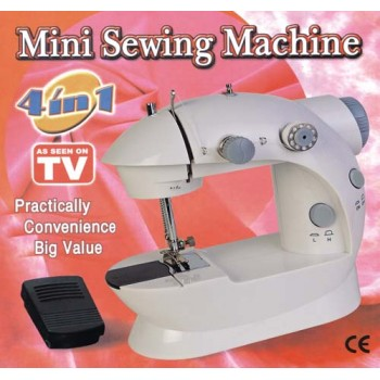 Branded & Imported Mini Sewing Machine 4 In 1 With Padal,- First Time In India, On Discounted Price,