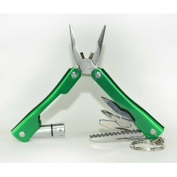 Micro Pliers-9 in 1 Multi Functional Tool Kit, Led Light, Knife, Blade, Cutter,-MRP 999.00, Imorted On 70% Off