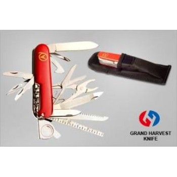 Grand Harvest 21 In 1 Multi Functional Swiss Army Knife Ss