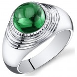 Panna Ring-Emerald Gemstone Ring-Emerald is the Gem of the Planet Mercury, 7.0 Rati -Mrp Rs.21000/-