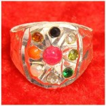 Navratan Angoothi- Nine Planet Ring- for Divine protection and to remove obstacles