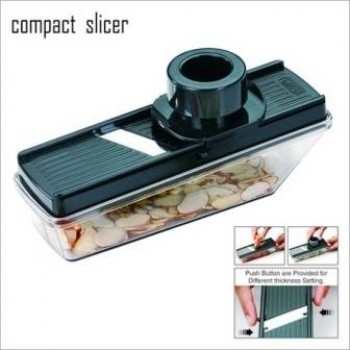 COMPACT DRY FRUIT SLICER +NOVA S.S. KNIFE+PIZZA CUTTER FREE FOR LATEST KITCHEN