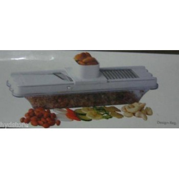 Krishna 2 In 1 Compact Magic Slicer, Dry Fruit Grater, Adjustable Thickness, On Discount
