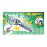 Class Stainless Steel Lemon Squeezer-With Bottle Opener