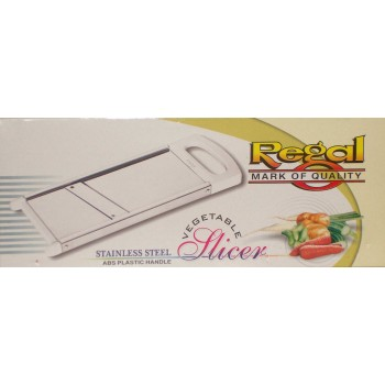 Regal Stainless Steel Slicer@50% Off+Nova Blade Peeler free worth Rs.349/-