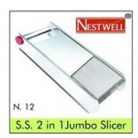Capital Stainless Jumbo Slicer On 50% Discount + Magic Slicer + Apex 3 in 1 Grater