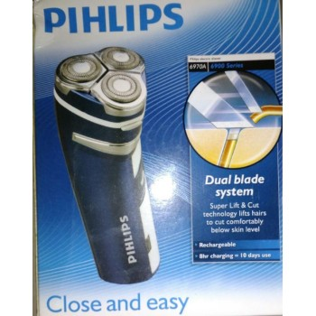 Pihlips Shaver Rechargeable 6970A Pop Up Trimmer, Maid in Holland, Market Price Rs.3499/- Offer Price 1799/-, 50% Off, Limited Stock,