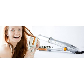 Preetech Rotating & Cylinder & Hot Iron for New Styling, Straightening & Polishing,On 56% Discounted Rate SEEN ON TV