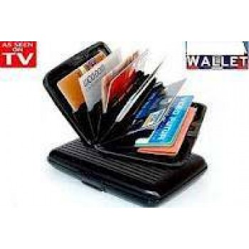 Aluminum Wallet, As Seen on TV Design Aluminum Wallet Buy 1 Get 3 More Total 4Pcs, MRP Rs.1999/- Offer Price Rs.699/- , As Seen on TV