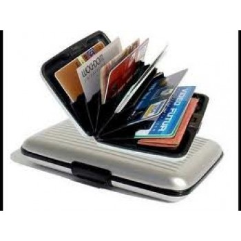 Aluma-Wallet-The-Stylish-Aluminum-Wallet - Buy 1 Get 1 Free, Security Credit Card Wallet ON 75%Discounted Rate