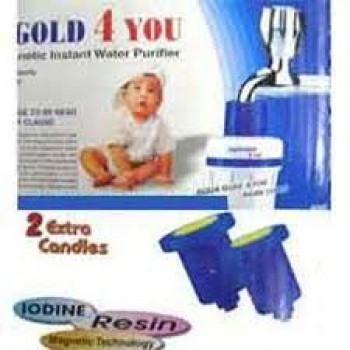 Aqua Gold 4 U(Water Filter)with 2 Free Cartridge on 61% Discount Buy 1 Get ! Free+GET Nova Peeler FREE