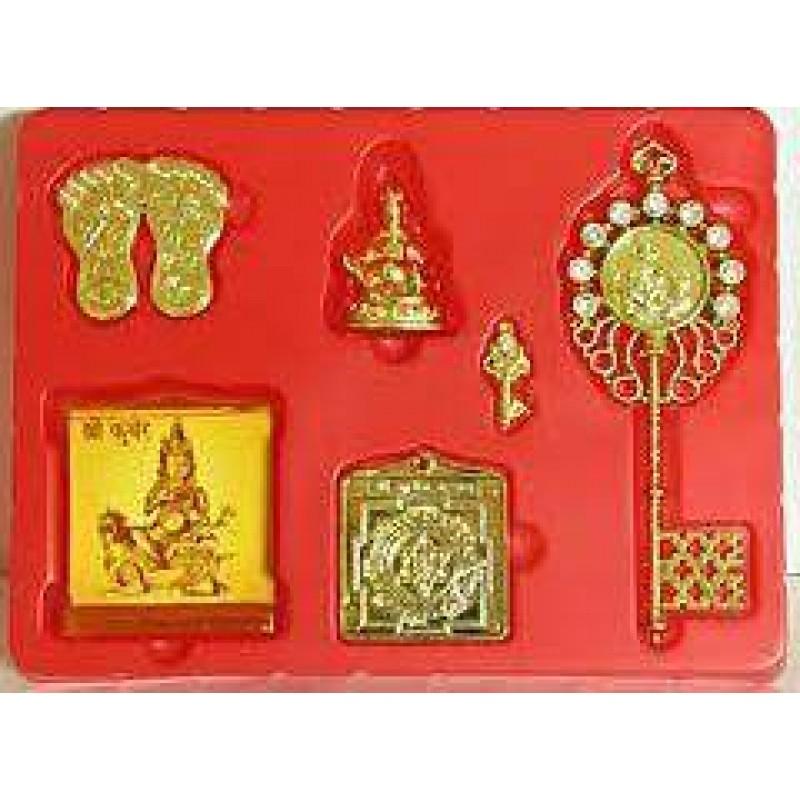 Shri Siddha Dhan Laxmi, Kuber Kunji & Nazar Dosh Suraksha Kavach 70% Off