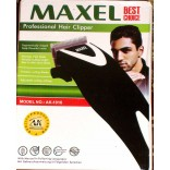 MAXEL PROFESSIONAL HAIR CLIPPER, MODEL NO: AK-1016 WITH FREE NAZAR SURAKSHA KAVACH WORTH RS.2199.00