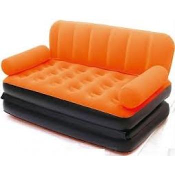 Bestway - Velvet 5 In 1 Air Sofa Bed, Air Launcher. - MRP Rs. 8999/-