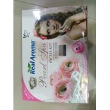 Real Aroma Pearl Spa Facial Kit, 5 in 1 Facial Kit, Pearl Facial Kit With 24ct Gold Kit Free, On 50% Discount