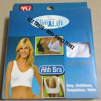 Ahh Bra- S Or M-Size, No More Wire or Straps, Seamless Bra,SEEN ON TV MRP Rs.999,OFFER PRIES Only:345/-Only -100% REAL,