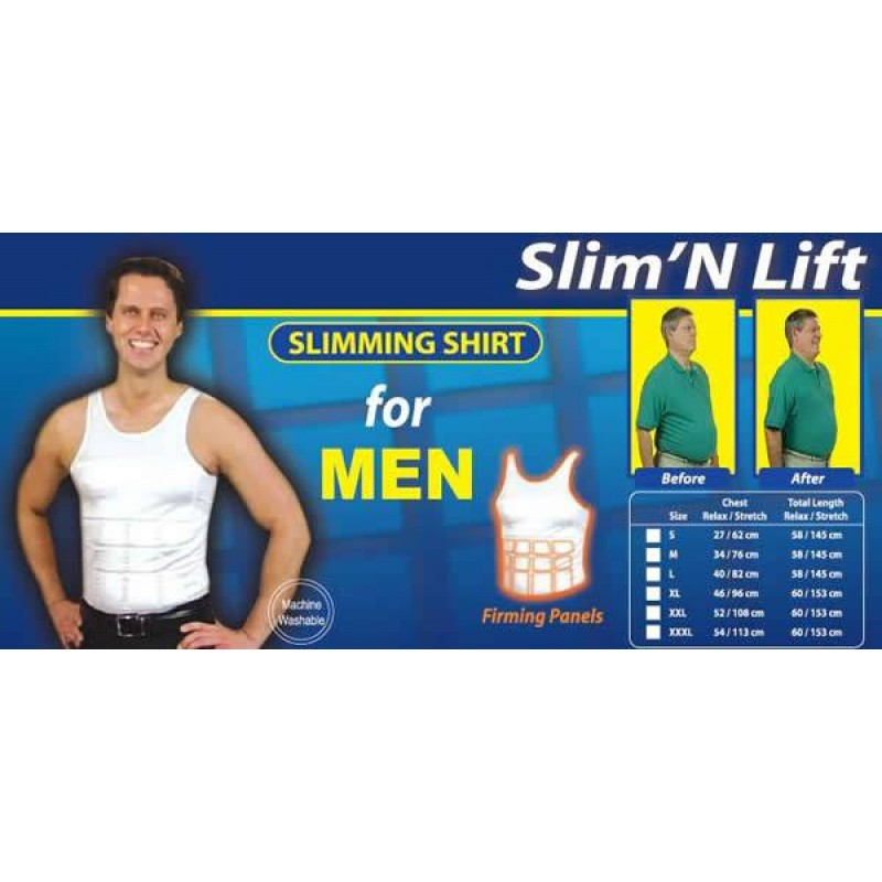 e25527431 Men s Slim N Lift Body Shaper –XL
