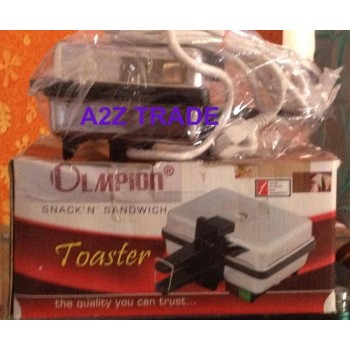 Olampian Snack 'N' Sandwich Toaster@50%Off Seen on TV Price Rs.1699 +Quantum Quantum Science Scaler Pendent- Worth Rs.999/-