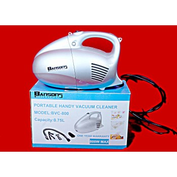 BENSION Vacuum Cleaner 800W -To Use Clean a Car as well as Home + NAZAR SURKSHA KAVACH