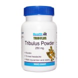 HealthVit Tribulus Powder 250 mg 120 Capsules (Pack of 2) For Mens Health On Discount