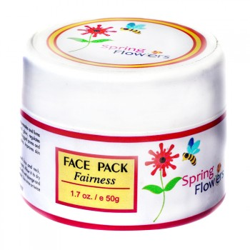 Fairness face pack-Spring Flower On Discount