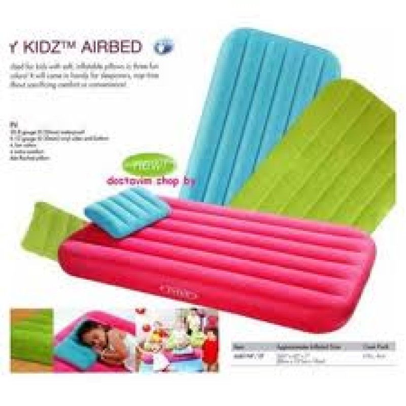 Intex Inflatable Air Bed-66801. Cozy Kids With Pump - AS ...