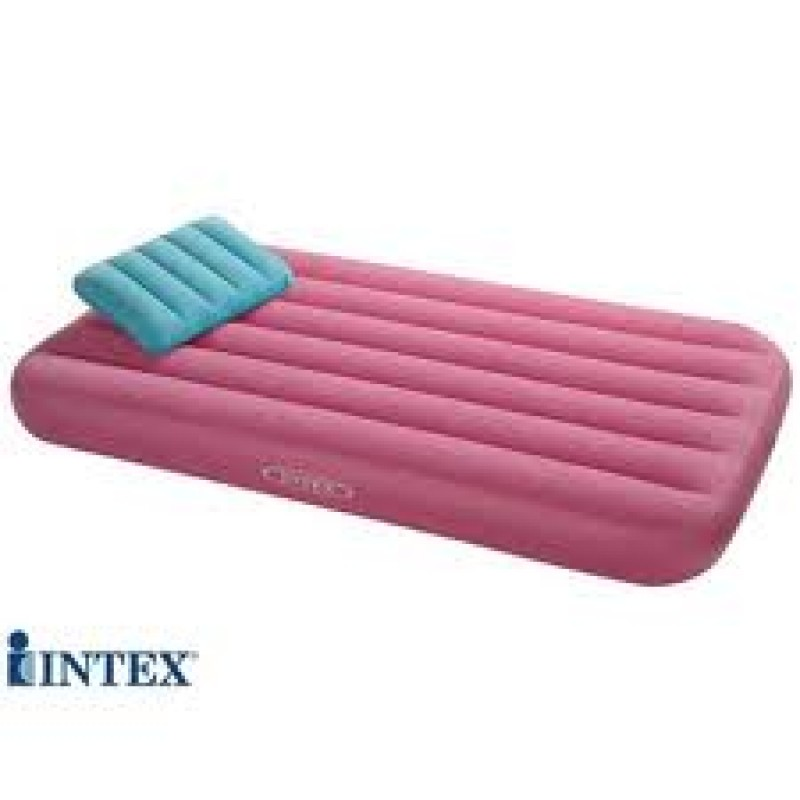 intex mattress air as bed kids on images with inflatable cozy seen tv pump